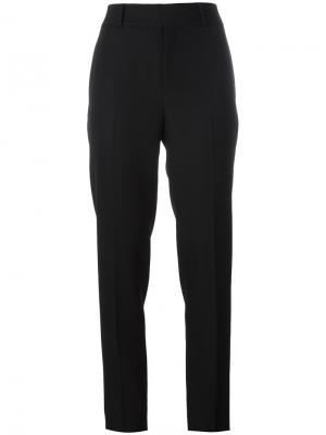 Прямые брюки Saint Laurent. Цвет: чёрный