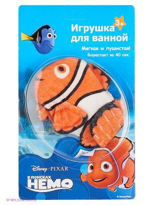 Игрушка для ванной Немо Disney. Цвет: оранжевый