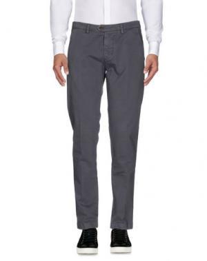 Повседневные брюки DW⁵. Цвет: свинцово-серый