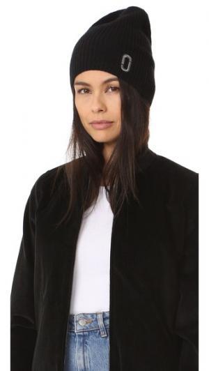 Классическая кашемировая шапка Marc Jacobs. Цвет: голубой