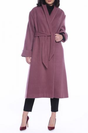Пальто Moda di Chiara. Цвет: dusty rose