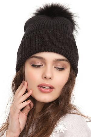 Шапка-бини Original FREESPIRIT. Цвет: черный, коричневый