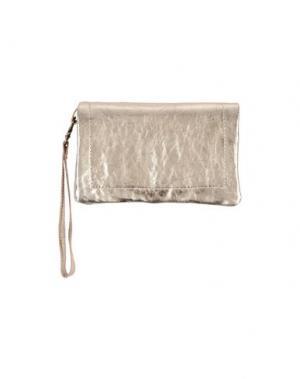 Бумажник CORSIA. Цвет: серебристый