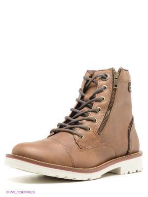 Ботинки WEST COAST. Цвет: коричневый