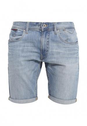 Шорты джинсовые Tommy Hilfiger Denim. Цвет: голубой