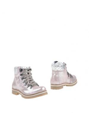 Полусапоги и высокие ботинки OCA-LOCA. Цвет: розовый