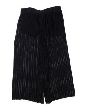 Повседневные брюки LE PETIT COCO. Цвет: черный