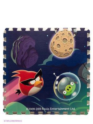 Коврик-пазл Space ANGRY BIRDS. Цвет: темно-синий