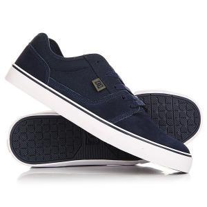 Кеды кроссовки низкие DC Tonik Navy Shoes. Цвет: темно-синий