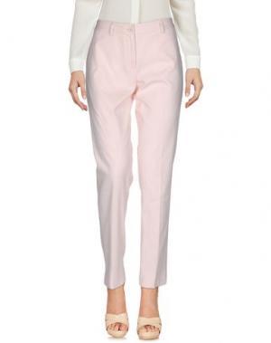 Повседневные брюки SCAGLIONE CITY. Цвет: розовый