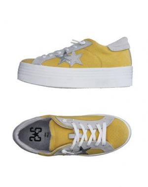 Низкие кеды и кроссовки 2STAR. Цвет: желтый