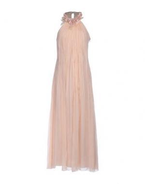 Длинное платье MARC CAIN. Цвет: розовый