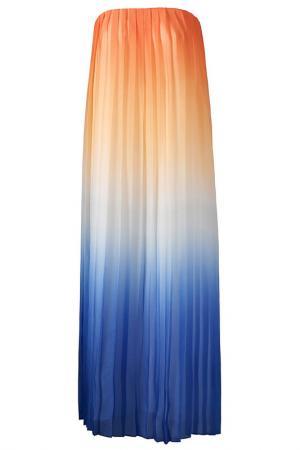 Платье Apart. Цвет: абрикосовый, синий