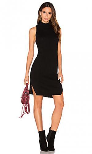 Вязаное платье из кашемира deana 360 Sweater. Цвет: черный