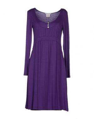 Короткое платье GERMANO ZAMA. Цвет: фиолетовый