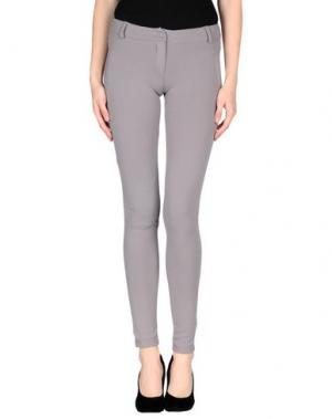 Повседневные брюки H²O LUXURY. Цвет: серый