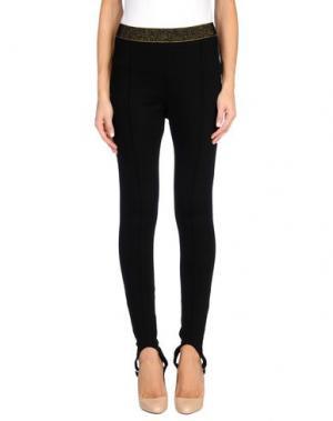 Повседневные брюки L*ECOLE. Цвет: черный
