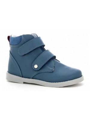 Ботинки Bartek. Цвет: голубой