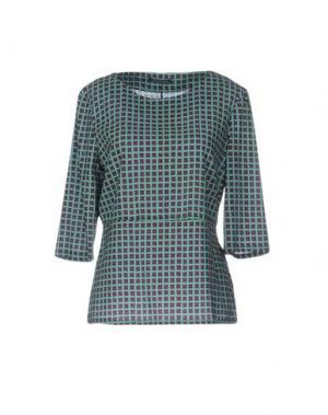 Блузка LAURA URBINATI. Цвет: светло-зеленый