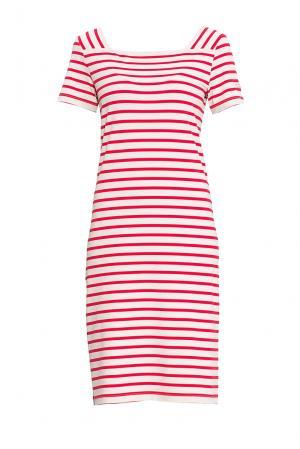 Трикотажное платье 170643 Saint James. Цвет: разноцветный