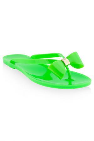 Шлепанцы MENGHI. Цвет: зеленый