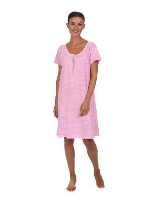 Ночная сорочка Веста.. Цвет: розовый
