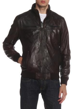Куртка Barneys originals. Цвет: espresso