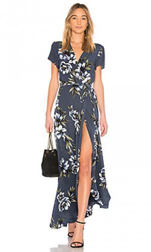 Платье spring street Yumi Kim. Цвет: синий