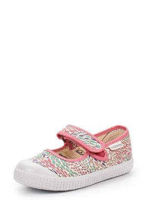 Туфли Victoria. Цвет: разноцветный