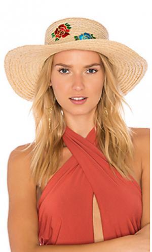 Шляпа the wardrobes Hat Attack. Цвет: цвет загара