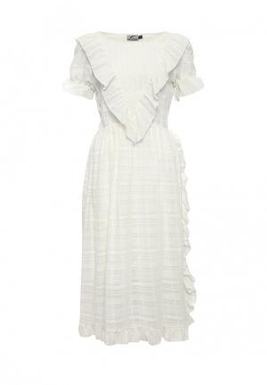 Платье Atelier Revolver. Цвет: белый