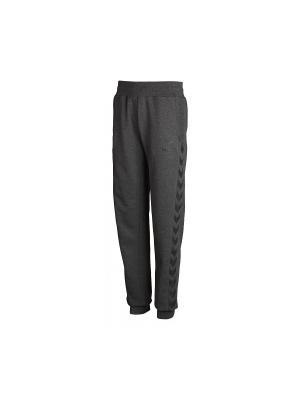 Спортивные брюки CLASSIC BEE WOMENS SWEAT PANTS HUMMEL. Цвет: темно-серый