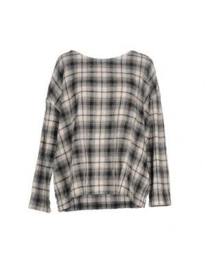 Блузка DES PETITS HAUTS. Цвет: светло-серый