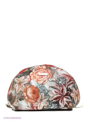 Косметичка Bullatti. Цвет: серый, розовый