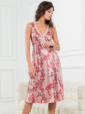 Сорочка MIA-AMORE. Цвет: терракотовый