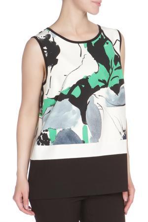 Блуза Liviana Conti. Цвет: бело-черный