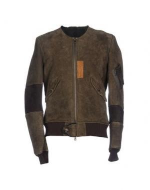 Куртка D'AMICO. Цвет: зеленый-милитари