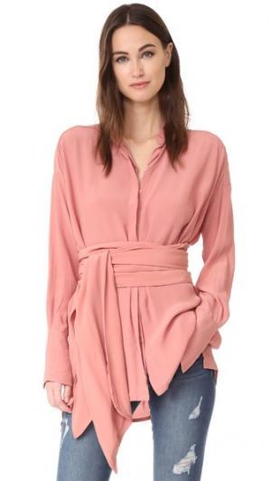 Рубашка Abyss MLM LABEL. Цвет: розовое золото