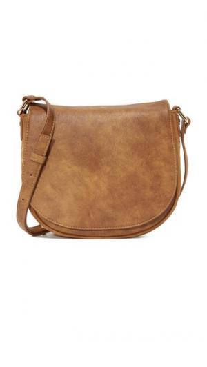 Седельная сумка с эффектом патины Deux Lux