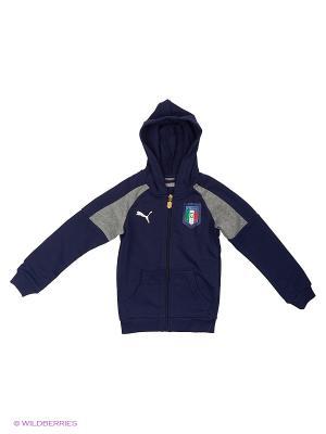 Толстовка FIGC TRIBUTE 2006 Hoody Puma. Цвет: синий