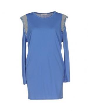 Короткое платье MARTA MARTINO. Цвет: сиреневый
