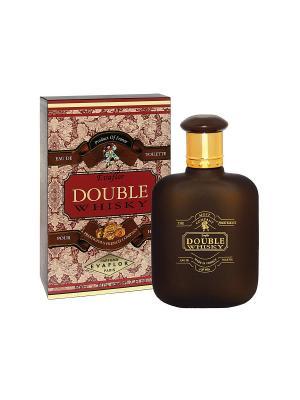 Туалетная вода муж. Дабл Виски (Double Whisky ) 50ml EVAFLOR. Цвет: прозрачный