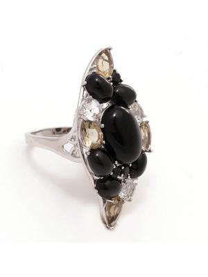 Кольцо BALEX. Цвет: оливковый, серебристый, черный
