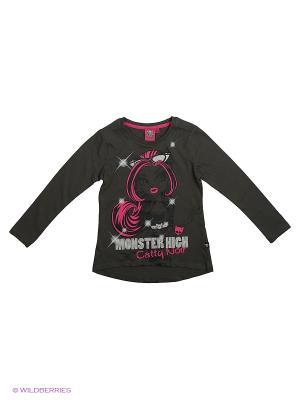 Лонгсливы Monster High. Цвет: темно-синий