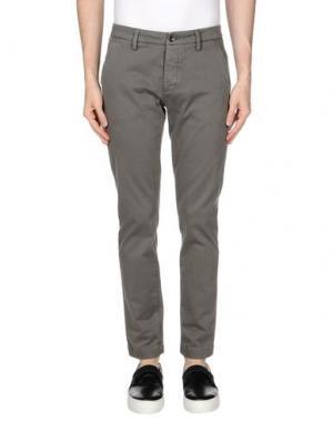 Повседневные брюки TELERIA ZED. Цвет: свинцово-серый