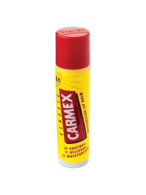 Бальзам для губ Carmex классический защита SPF-15 в стике 4,25 г. Цвет: желтый