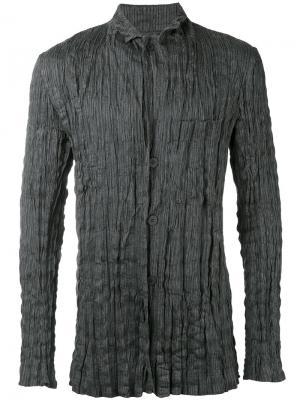 Пиджак с эффектом помятости Issey Miyake Men. Цвет: серый