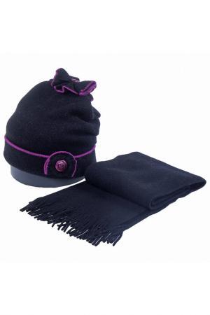 Комплект: шапка, шарф Vittorio Richi. Цвет: фуксия