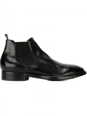 Ботинки Челси Princeton Officine Creative. Цвет: чёрный