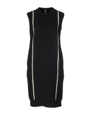 Платье до колена DAMIR DOMA. Цвет: черный